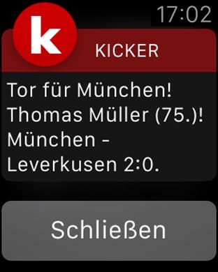 kicker Fußball News Screenshot