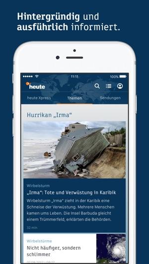 ZDFheute - Nachrichten Screenshot