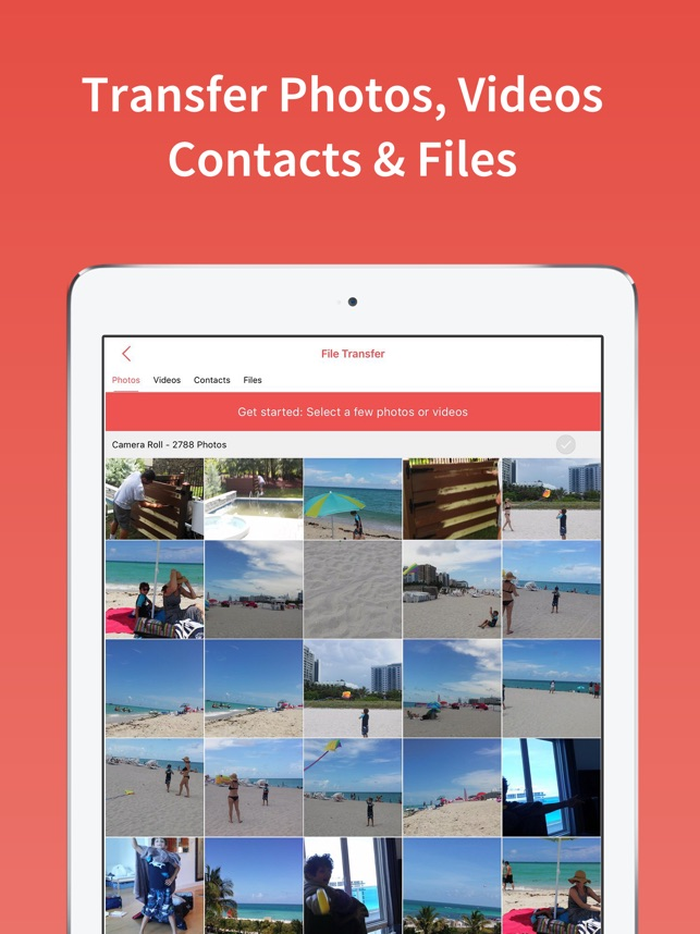 FotoSwipe: File Phone Transfer Screenshot