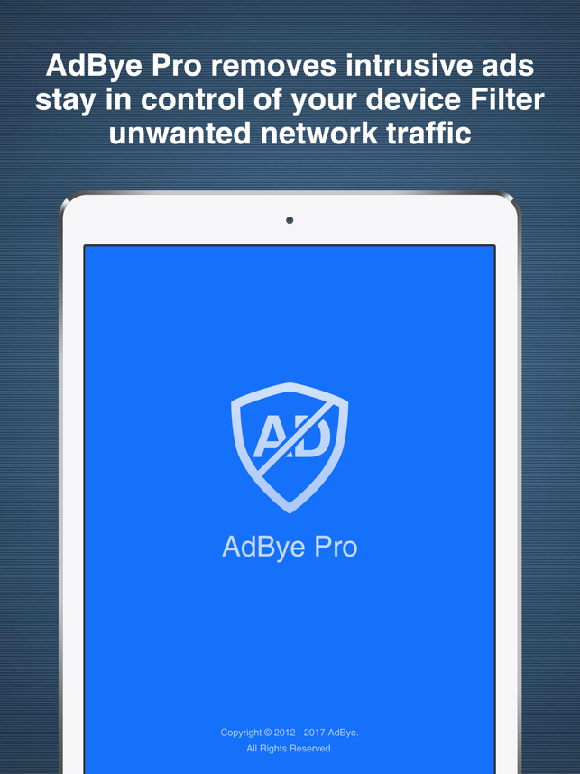 AdBye Pro-stop web pop-up ads Screenshot
