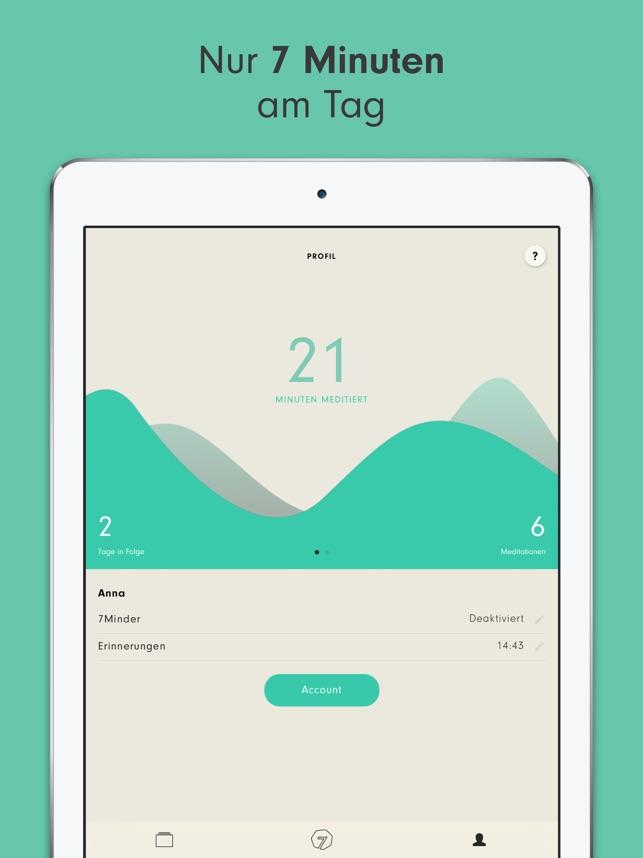 7Mind Meditation & Achtsamkeit Screenshot