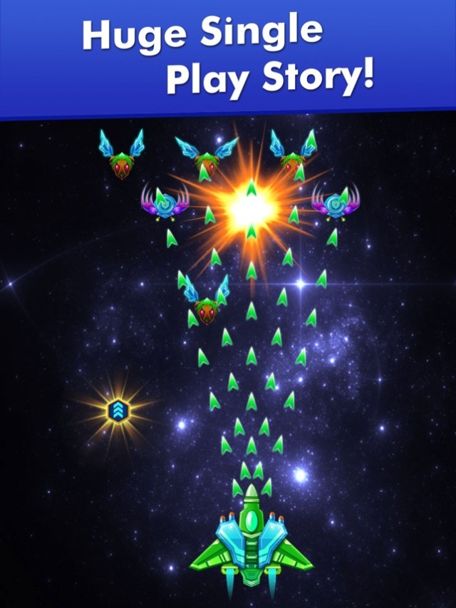 Galaxy Attack: Alien Shooter Screenshot