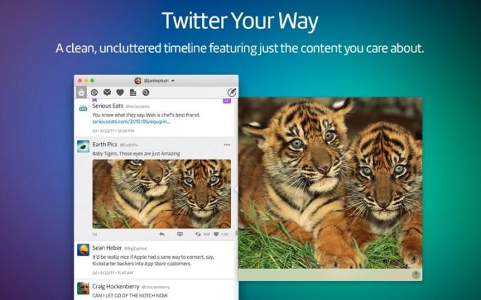 Twitterrific 5 for Twitter Screenshot 1