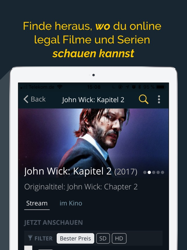 JustWatch - Filme & Serien Screenshot