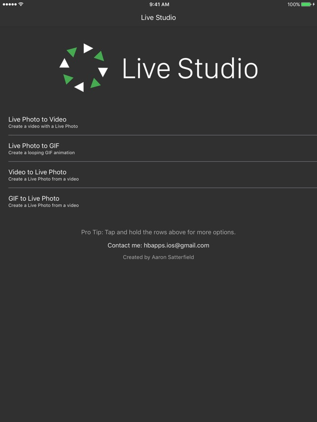 Live Studio for Live Photos Screenshot
