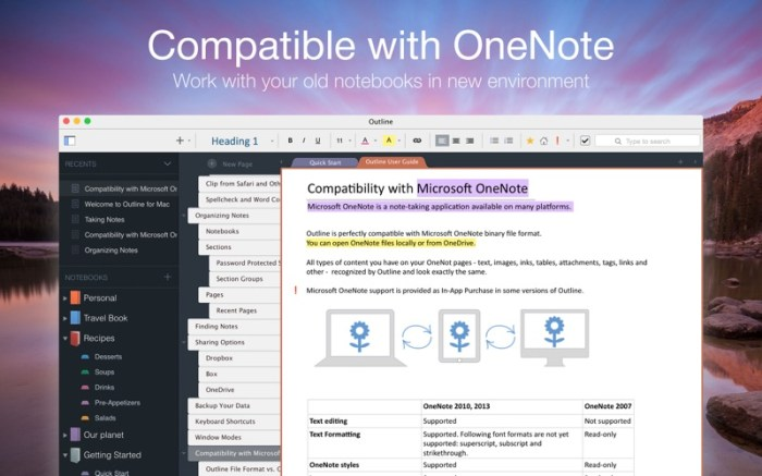 Outline –your digital notebook Screenshot 04 1nangxkn