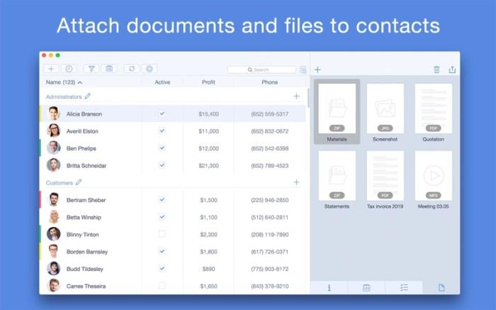 Top Contacts - Contact Manager Screenshot 04 133brun