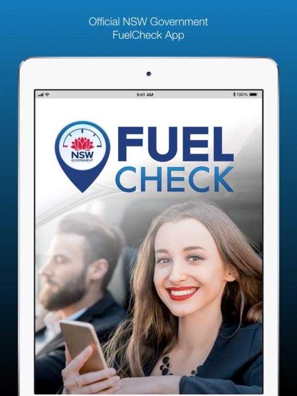 NSW FuelCheck Screenshot
