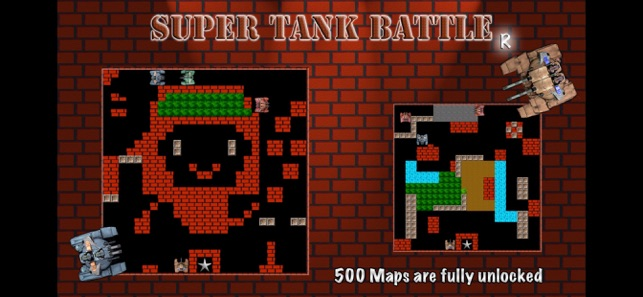 Super Tank Battle R - Type X Screenshot