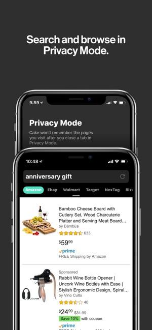 Cake Web Browser Screenshot