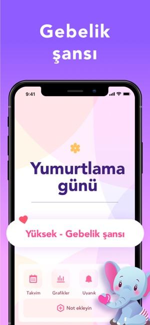 Adet Takvimi - Regl Takibi Screenshot