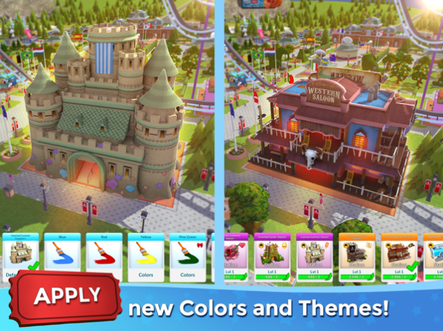 RollerCoaster Tycoon® Touch™ iOS Game Review - iOS Game Updates