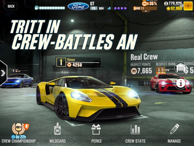 ‎CSR Racing 2 Screenshot