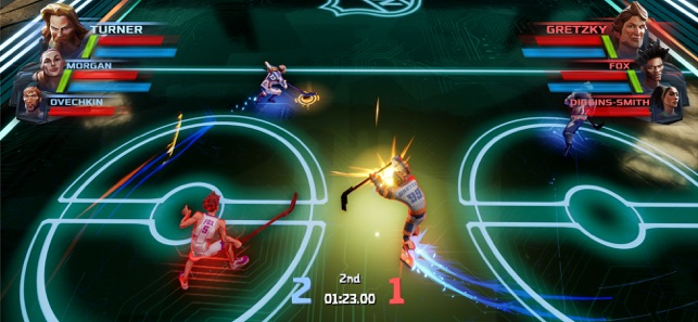 Ultimate Rivals: The Rink Screenshot