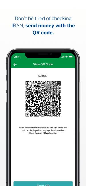 Garanti BBVA Mobile Screenshot