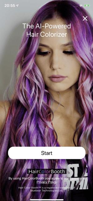 Hair Color Booth™ Screenshot