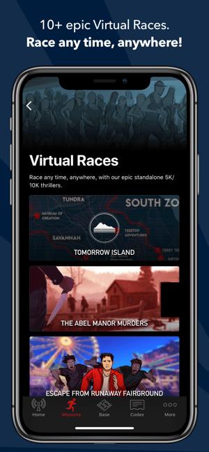 Zombies, Run! Screenshot