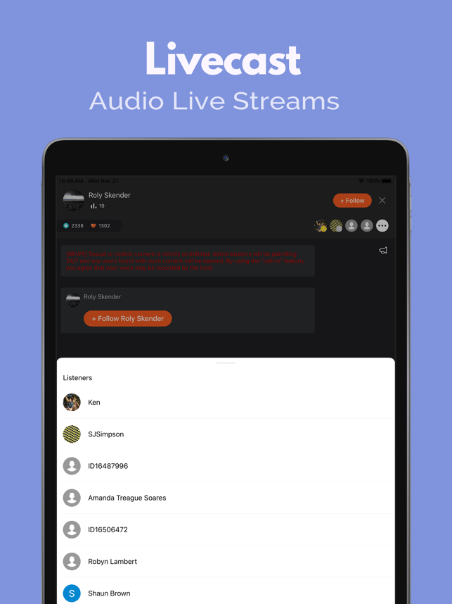 ‎Podcast Player: Castbox Screenshot