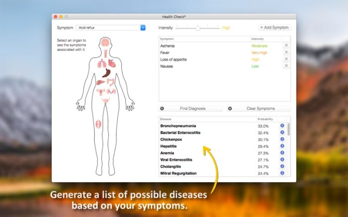 Health Check - Symptom Checker Screenshot 04 x36bkn