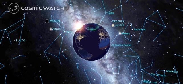 Cosmic-Watch Screenshot