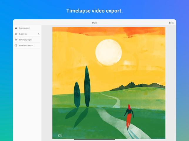 Adobe Fresco: Draw & Paint Screenshot