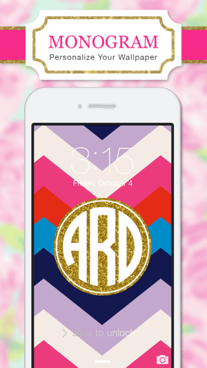 ‎Monogram Wallpapers Lite Screenshot
