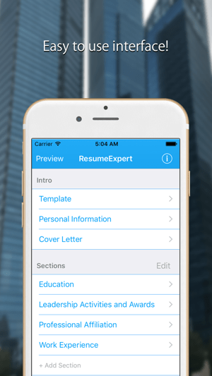Resume Builder  Resume Maker on the App Store  Resume Builder  Resume Maker on the App Store