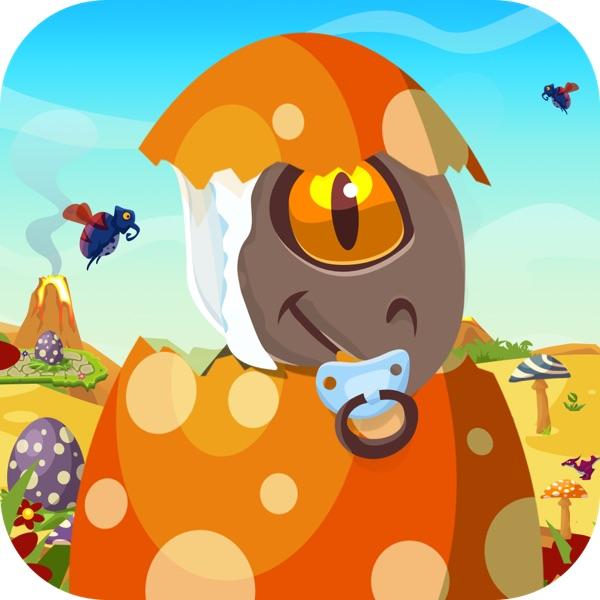 Baby Dino Egg Hunt : Dinosaur Run and Jump Game