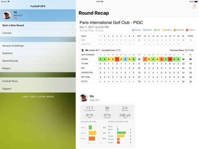 Fun Golf GPS Screenshot