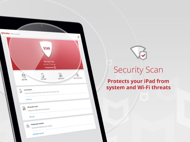 Mobile Security & Wifi Scan Screenshot