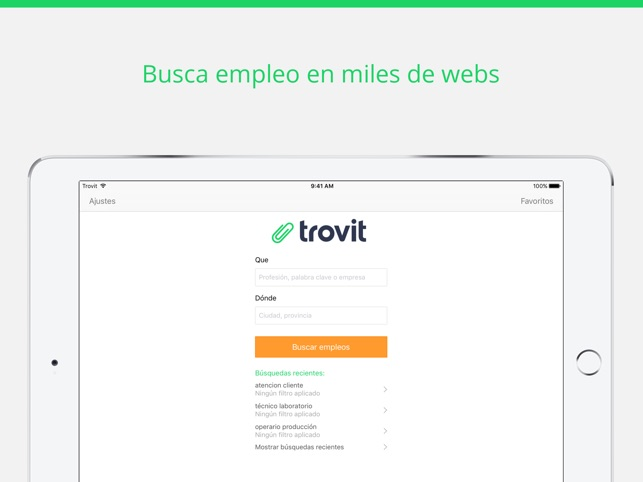 Trovit Empleo Screenshot