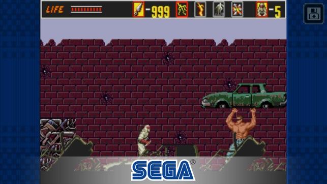The Revenge of Shinobi Classic Screenshot