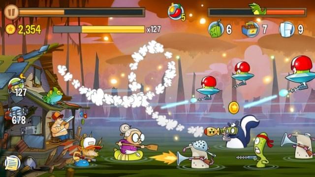 Swamp Attack Screenshot