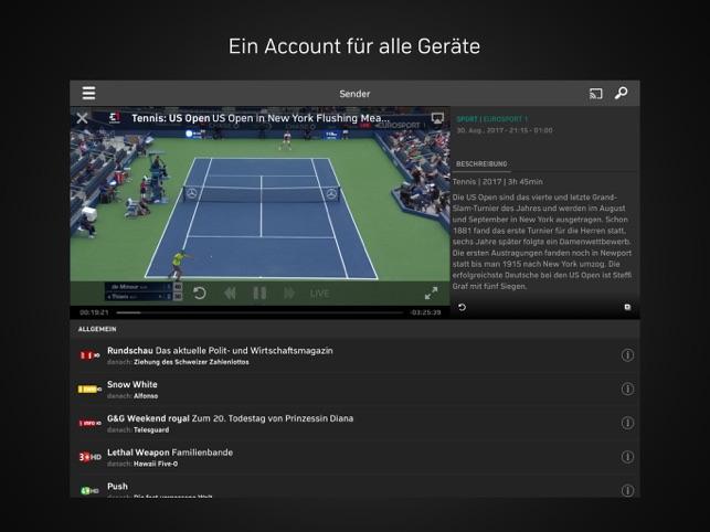 Zattoo TV Streaming Screenshot