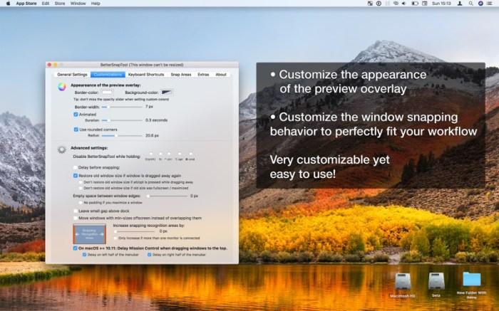 BetterSnapTool Screenshot 04 9omsern