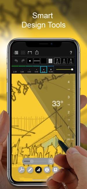 Morpholio Trace - Sketch CAD Screenshot