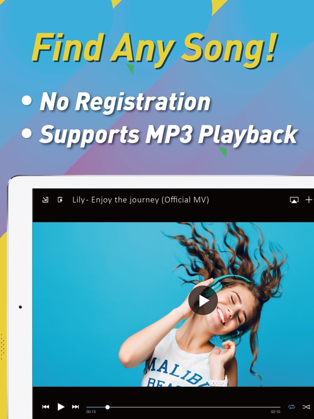 Musik MP3 Player: MB3 Screenshot