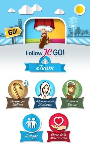 Follow JC Go Screenshot