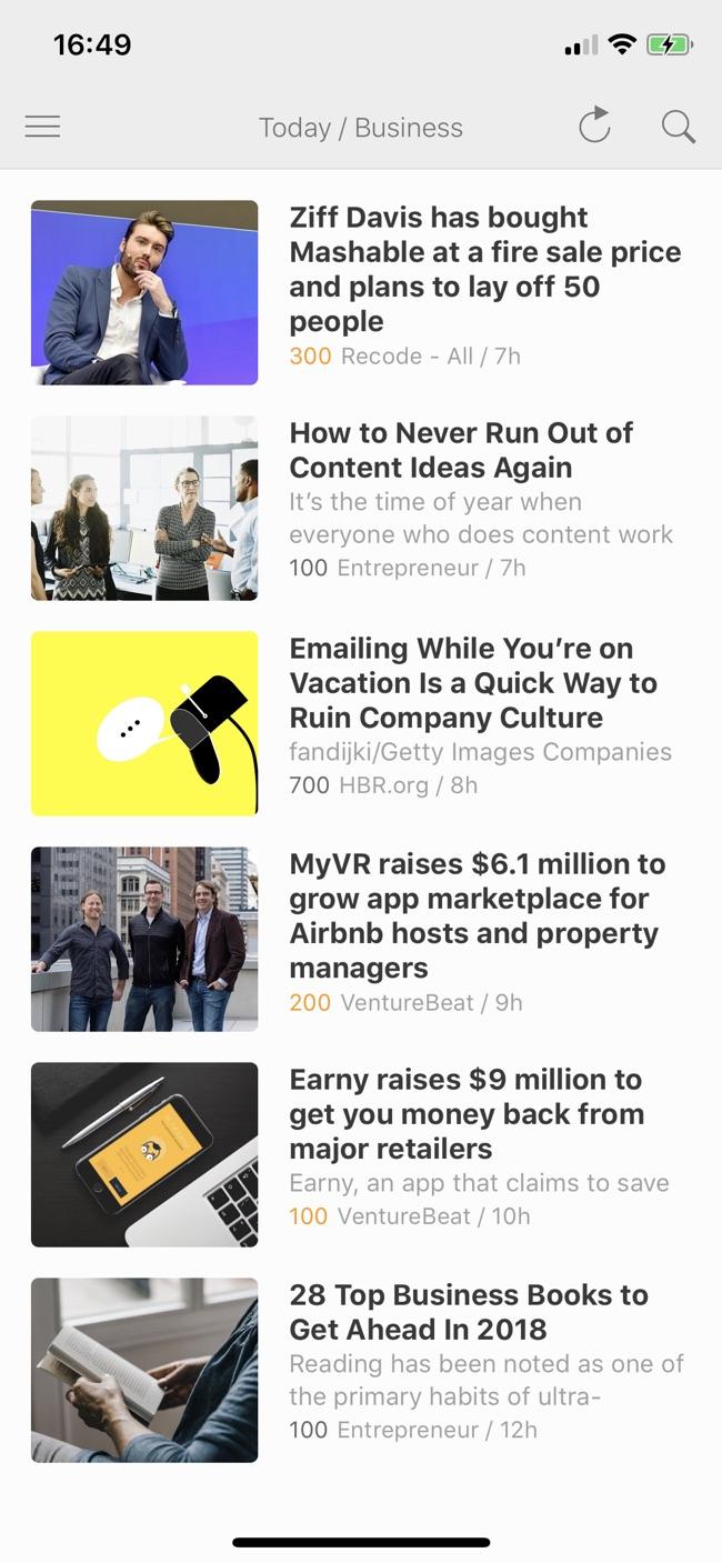 Feedly - Get Smarter Screenshot