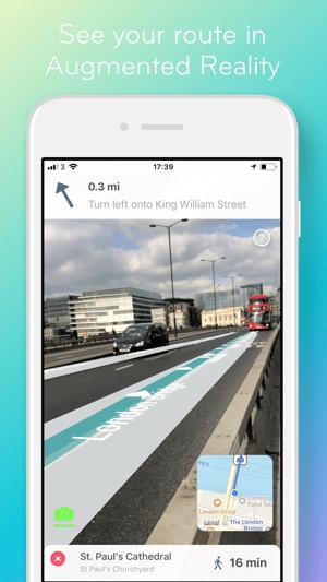 ARCity - AR Navigation Screenshot