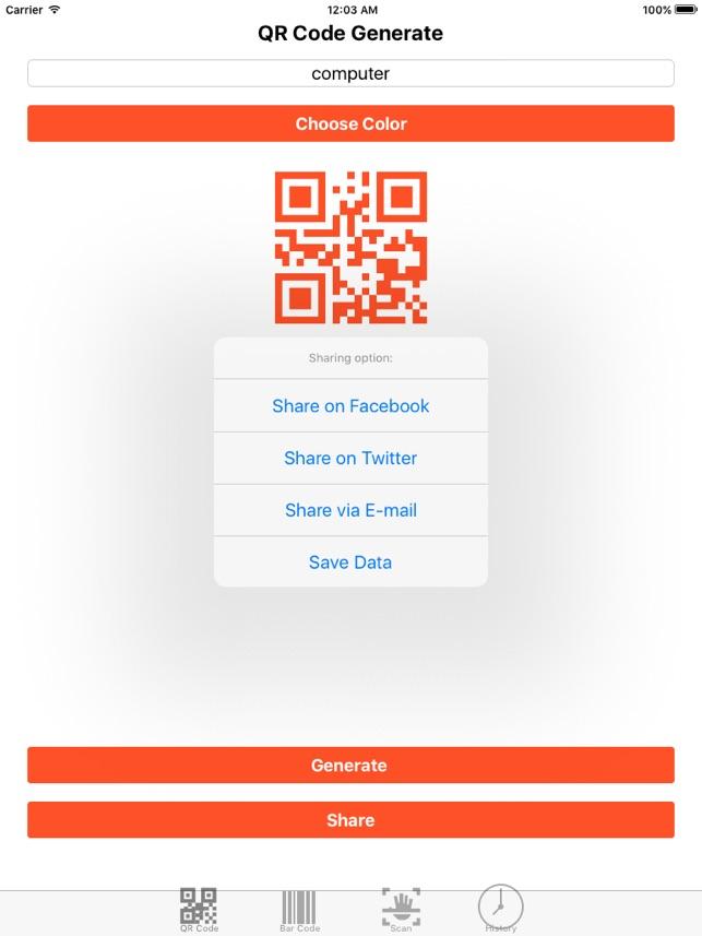 Barcode Toolbox-Scan,Create All QR & Data Matrix Screenshot