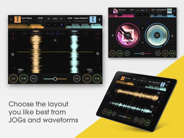 WeDJ for iPad Screenshot
