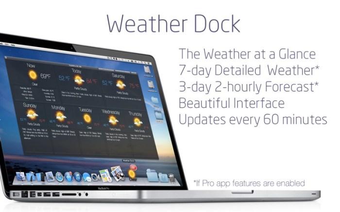 Weather Dock: Desktop forecast Screenshot 02 9wg6z1n