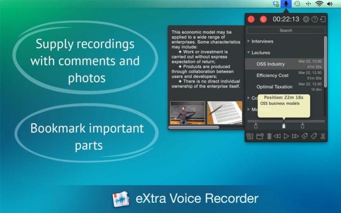 eXtra Voice Recorder Pro. Screenshot 02 vmxwxfy