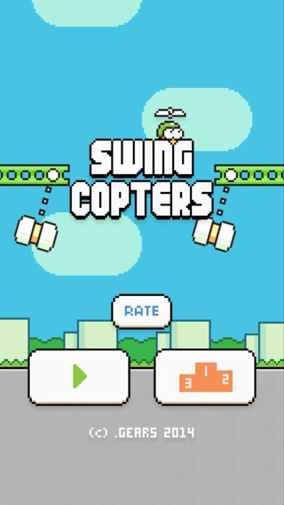 Swing Copters Screenshot