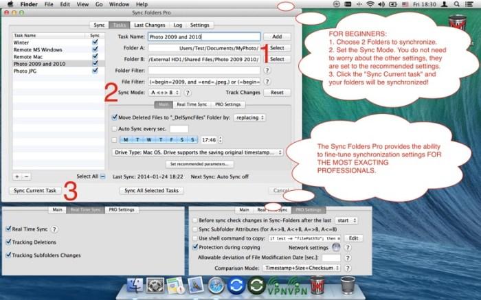 Sync Folders Pro Screenshot 02 cf188mn