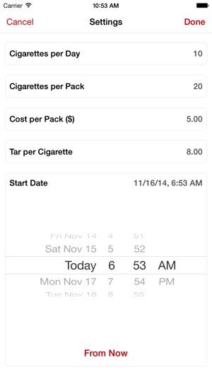 SmokeFree - Rauchfrei Screenshot