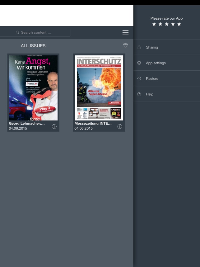 retter.tv Kiosk Screenshot