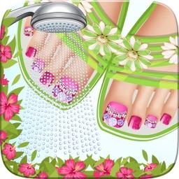 Seaside Feet Salon Game Nail Art Beauty Cute Designanicure Ideas