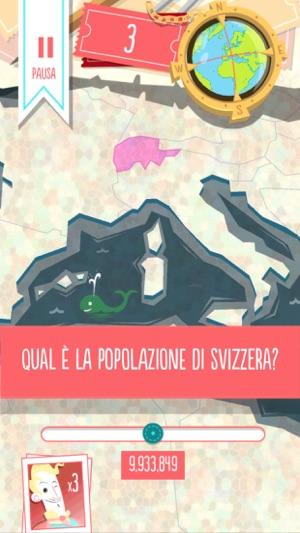 Worldly - Quiz delle Nazioni! Screenshot
